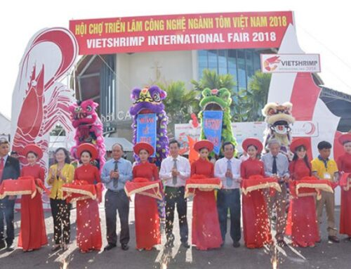 The second VietShrimp 2018 inaugurated in Bạc Liêu Some pictures from the trade fair this year: