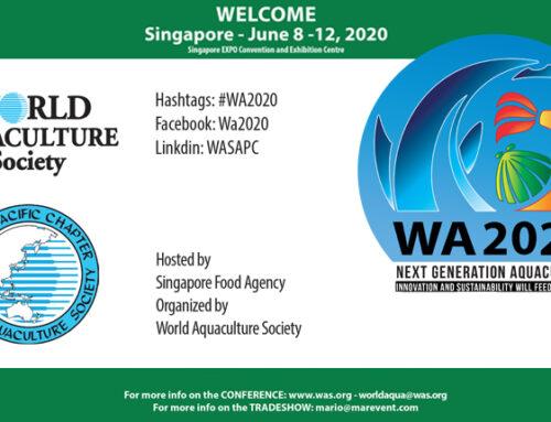 World Aquaculture 2020: Singapore EXPO Convention and Exhibition Centre & Max Atria, Singapore June 8-12, 2020
